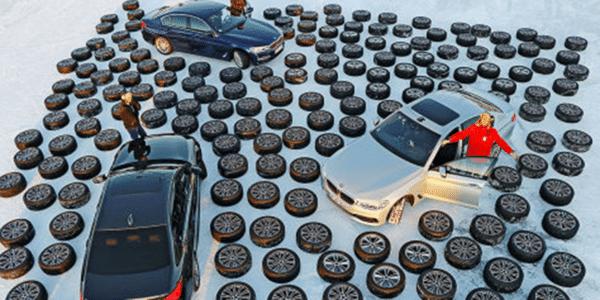 Test pneus hiver : Auto Bild a fait un comparatif sur neige de 51 pneus hiver