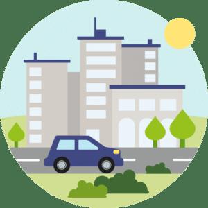 Pneu pour conduite en ville