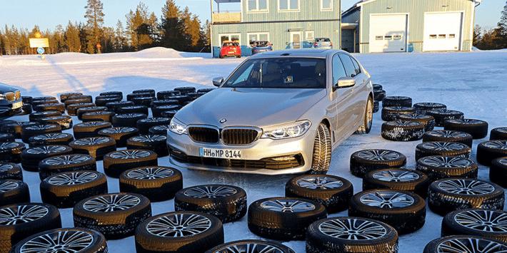 Test pneus hiver : Auto Bild fait un comparatif de 51 pneus pour l'hiver sur la BMW Série 5